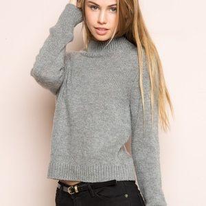 Brandy Melville Mock Sweater